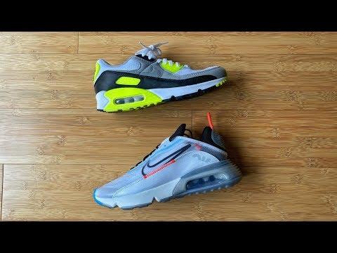 Nike Air Max 90 Vs Nike Air Max 2090