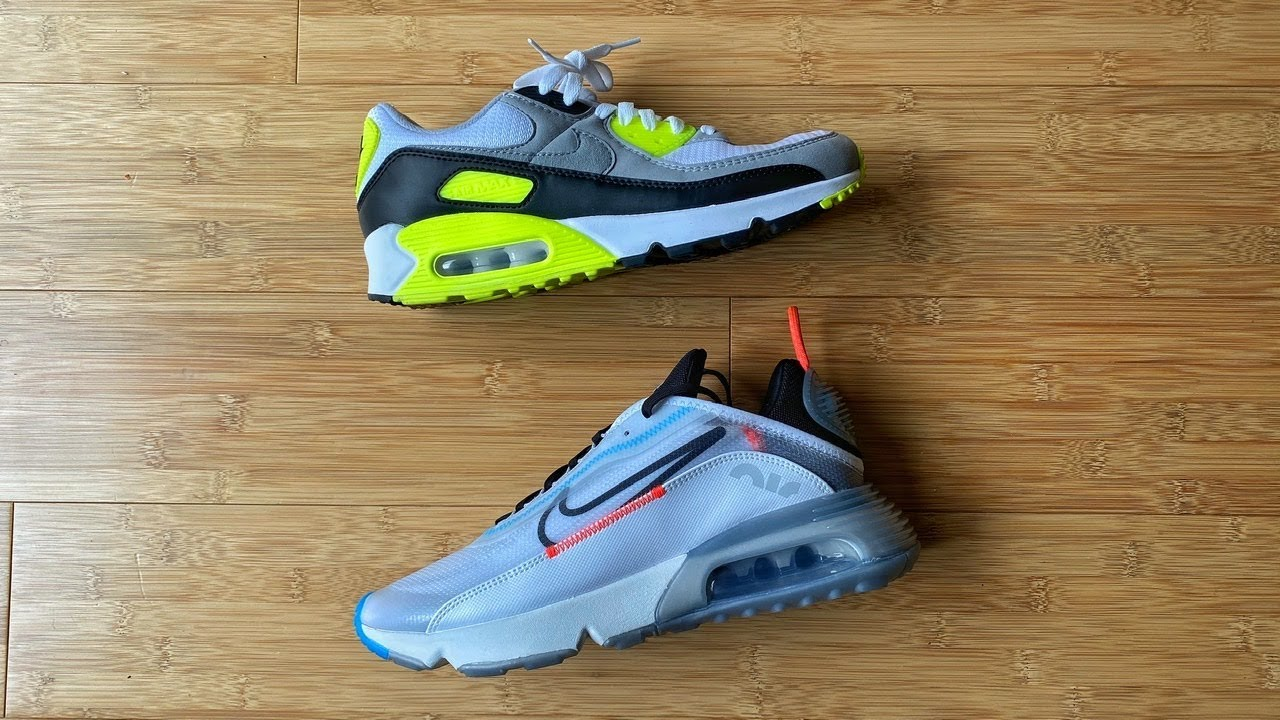 alto Incentivo arrastrar  Nike Air Max 90 Vs Nike Air Max 2090 - YouTube