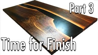 Building an Epoxy Conference Table with a Balck River || Part 3
