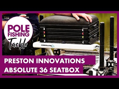 Pole Fishing Tackle - Preston Innovations Absolute 36 Seatbox