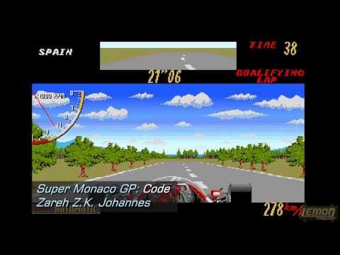 Super Monaco GP (Amiga) - A Playguide and Review - by LemonAmiga.com