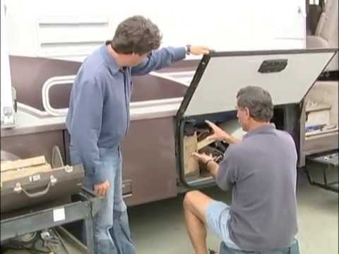 Rv How To Project Replacing A Door Strut Youtube