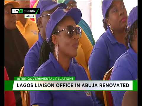 Lagos Liaison Office in Abuja renovated