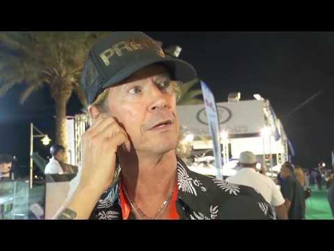 Hisham Wyne interviews GnR bassist Duff McKagan - Dubai Boat Show 2017
