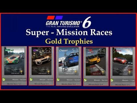 Gran Turismo 6 - Super - Mission Races (GOLD)