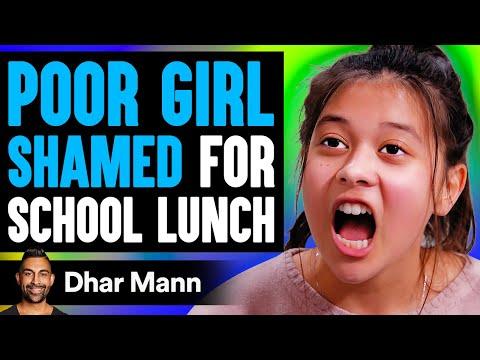 Poor Girl Shamed For Her School Lunch, Instantly Regrets It | Dhar Mann