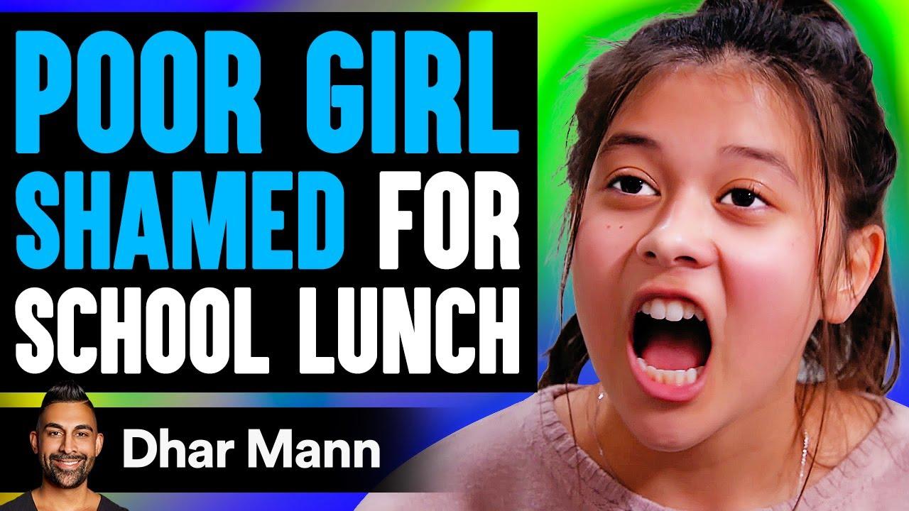 Download Poor Girl Shamed For Her School Lunch, Instantly Regrets It | Dhar Mann