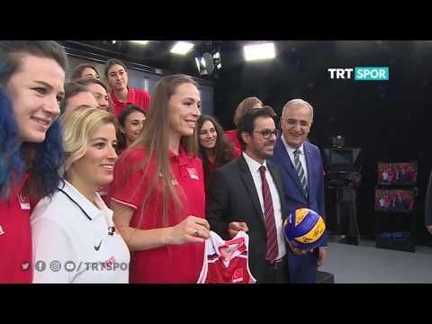 """TRT Spor """"Filenin Sultanlarını"""" ağırladı"""