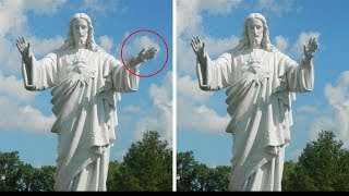 5 Mysterious Moving Statues Caught On Camera vol. 2