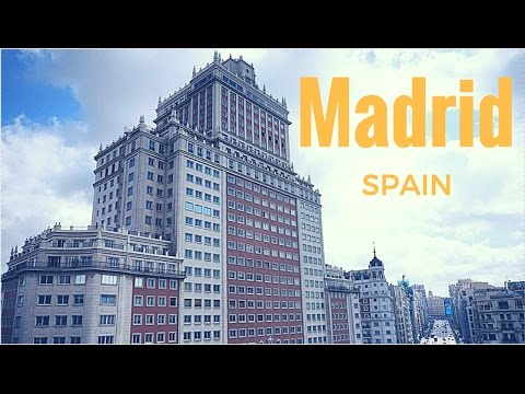 Top 7 places to visit in Madrid for 2017 - travel in Spain!
