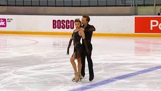 Ритм танец Танцы на льду Кубок России по фигурному катанию 2020 21