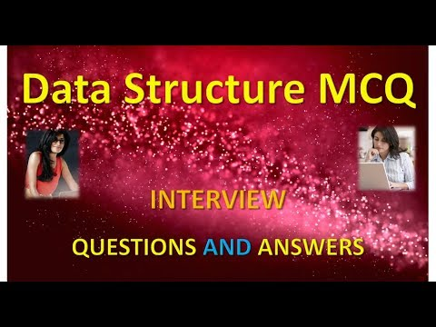 Data Structure MCQ Questions Answers Part 1