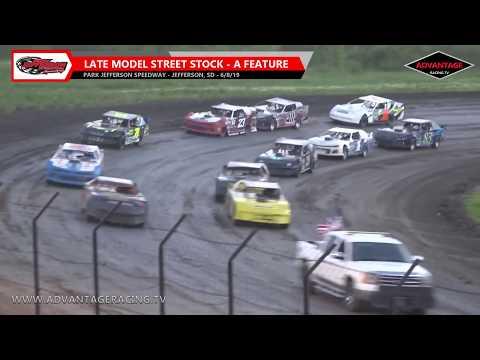 Late Model Street Stock Feature - Park Jefferson Speedway - 6/8/19
