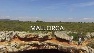 Mallorca with drone