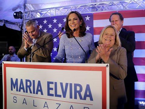 Maria Elvira Salazar Wins GOP Primary In Florida's 27th Congressional District