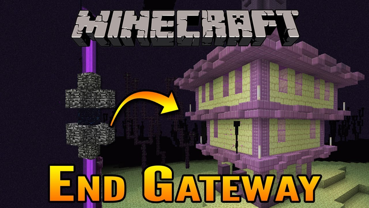 How To Find The Minecraft End Gateway End Ship And End City Youtube
