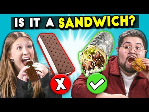 Is It A Sandwich? | People Vs. Food