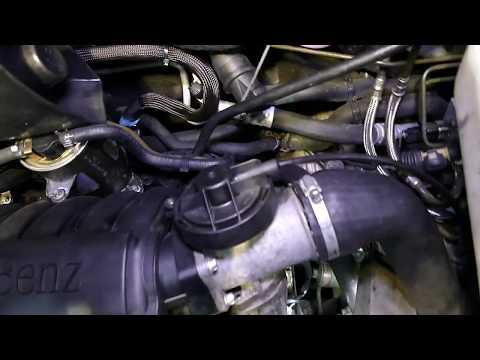 Mercedes-Benz Vaneo I Facelift 1.7d Common Rail 4-valve 2001-2005. Engine Code OM668
