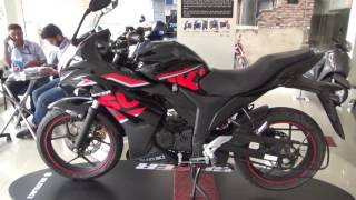 2017 SUZUKI GIXXER SF COLOR  BLACK AND RED