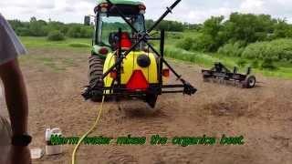 John Deere Organic Fertilizing Boom Sprayer