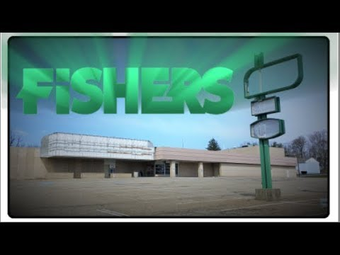 EXPLORING ABANDONED FISHERS FOODS Grocery Store Supermarket - Raw Footage Cherry St Canton Ohio