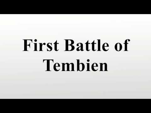 First Battle of Tembien