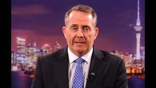Liam Fox on post-Brexit trade standards & Ireland (26 Nov 2017)