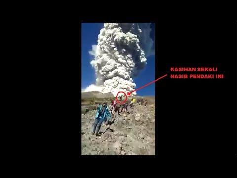 Nasib Pendaki Merapi saat Wedus Gembel Datang 11 mei 2018 [detik-detik erupsi gunung merapi]