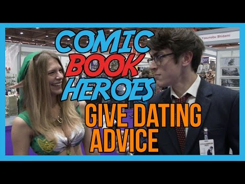 NERDY INTERN GETS LOVE ADVICE FROM SUPERHEROES | COMIC CON 2015