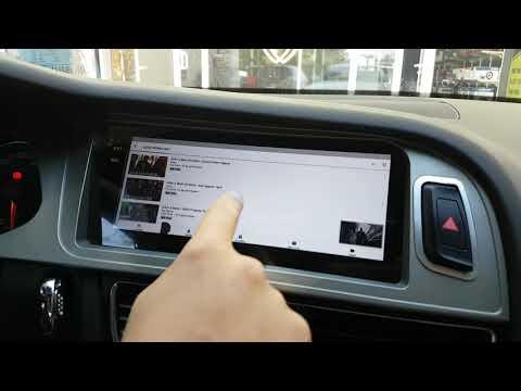 "Audi A4 B8 Uyumlu 8.8"" Ekranlı Android Multimedya Sistem Montajımız - EMR Garage Ankara"