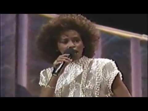 Whitney Houston Hold Up The Light Live Soul Train Music Awards 1989