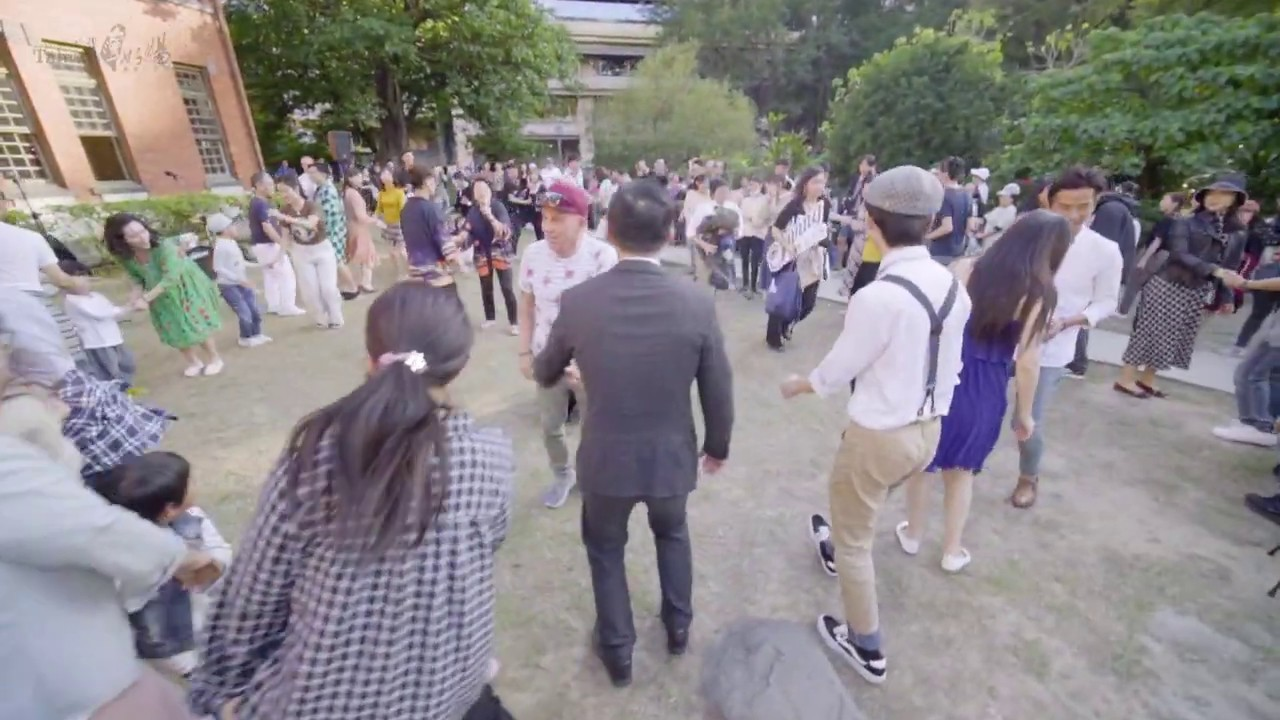 Hot Spring Flash Mob Dance in Beitou