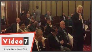 """علاء عبد المنعم لمرتضى منصور: """"عمرك ما كنت مستشار جبتها منين"""""""