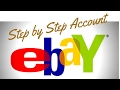 eBay Account Set Up  | Step By Step