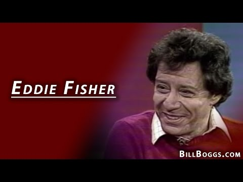 Eddie Fisher Interview with Bill Boggs