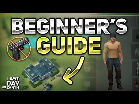 BEGINNERS GUIDE FOR POLICE STATION! CLEAR WITHOUT GUNS!  - Last Day on Earth: Survival