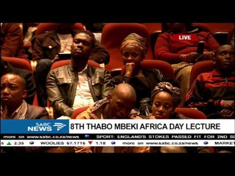 Prof Mahmood Mamdani delivers the 8th Thabo Mbeki  Africa Day Lecture