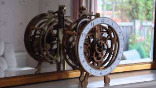 Brian Law's Woodenclocks - Clock14 - Prototype