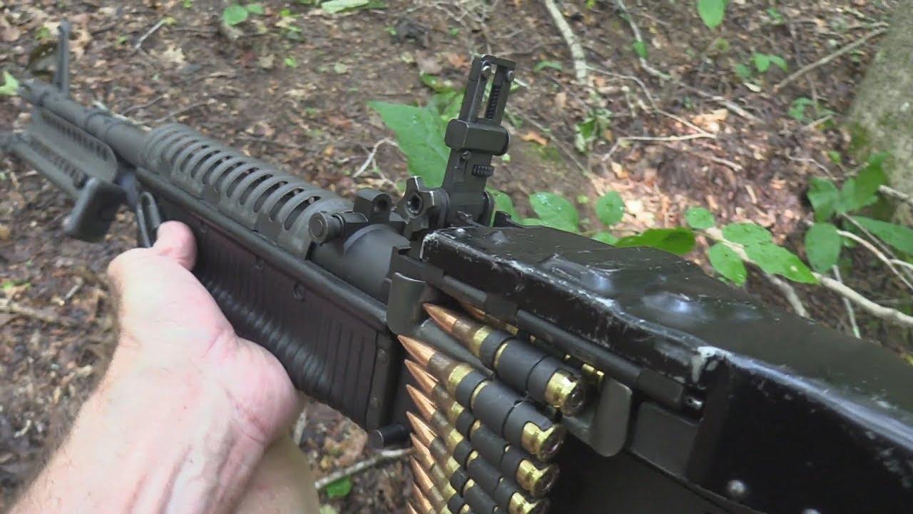 [고막주의] 묵직한 M60기관총 사격 영상 모음집(M60 machine gun firing compilation) - YouTube