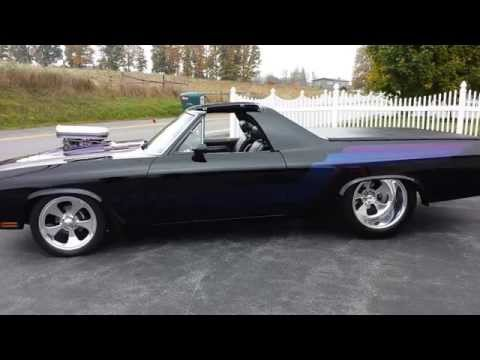 1970 Chevrolet Elcamino SS Prostreet Protouring