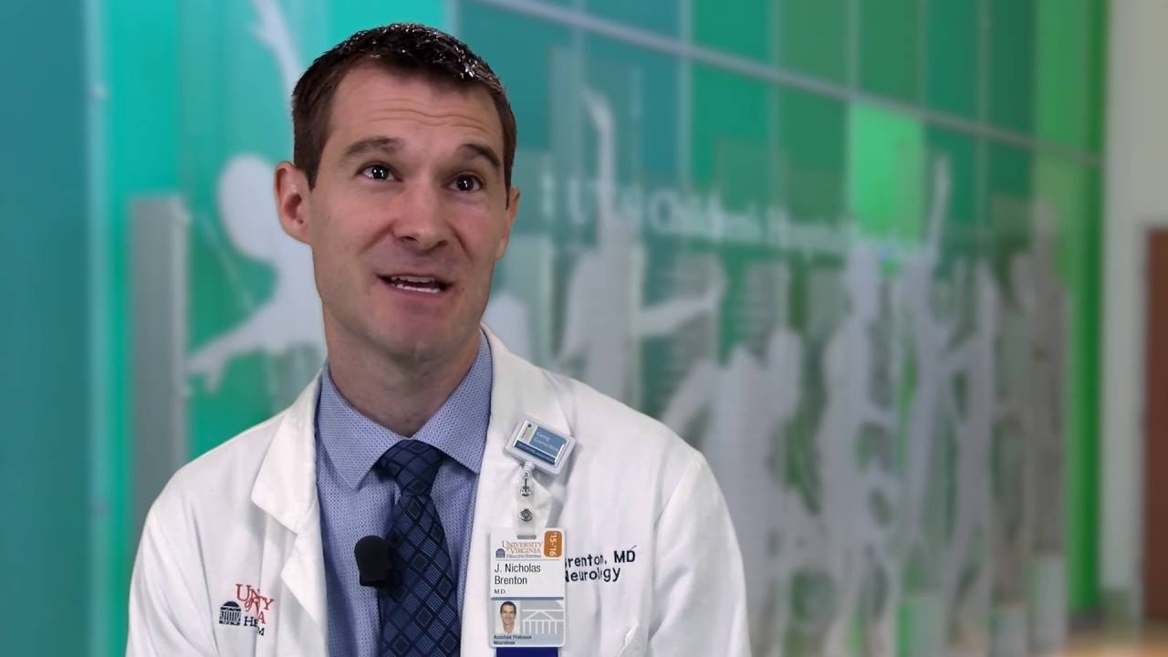 Meet UVA Pediatric Neurologist, Dr  James Nicholas Brenton