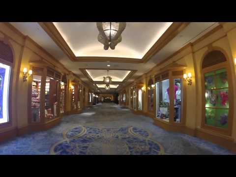 The Real Atlantis Bahamas - Coral Towers Lobby Walkthrough #1