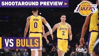Shootaround Preview: Bulls (1/15/19)