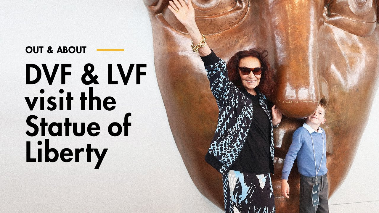 Out & About: DVF & LVF visit the Statue of Liberty