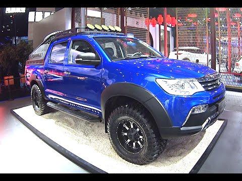 2016, 2017 SUVs Changfeng Liebao CT7 Pickup Truck Will Hit The Chinese Car Market