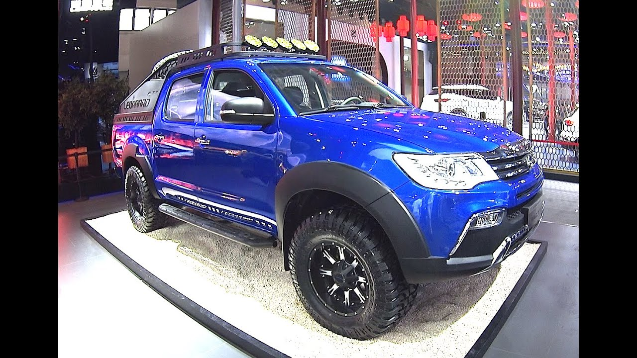2016, 2017 SUVs Changfeng Liebao CT7 Pickup Truck Will Hit