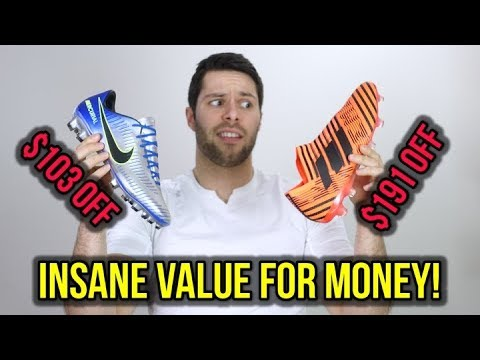 TOP 10 SOCCER CLEAT DEALS OF 2018! *BEST VALUE FOR MONEY*