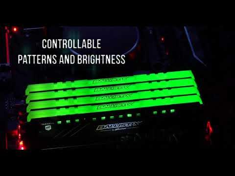 0 - Ballistix stellt gratis 3D-Designs für neues Tactical Tracer RGB DDR4 Gaming-RAM-Kit zur Verfügung