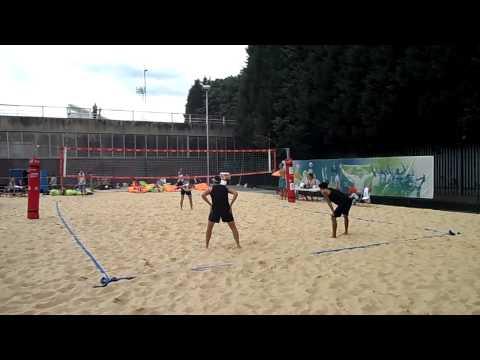 Crystal Palace Beach Volleyball Club - Beach Series III - Men's Semi Finals Set. 2 - 18 August 13