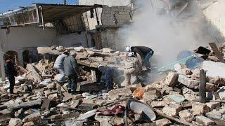 أخبار عربية - قتلى في غارات مكثفة للنظام على مدن وبلدات ريف إدلب